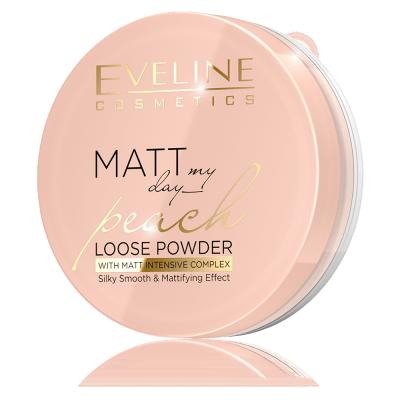 Eveline Matt My Day Peach Loose Powder 6 g