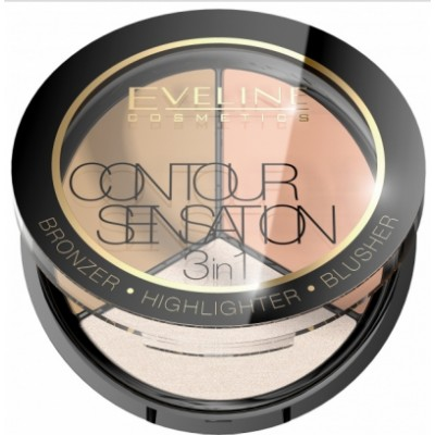 Eveline 3in1 Contour Sensation 2 Peach Beige 20 g