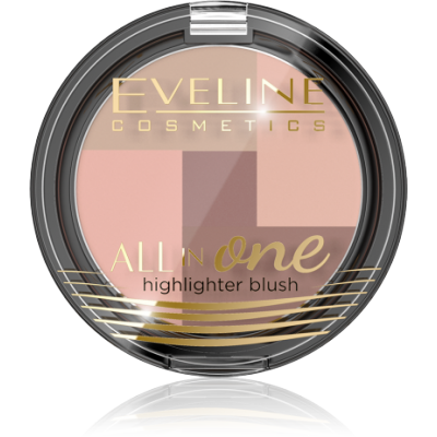 Eveline All In One Mosaic Blush 01 6,5 g