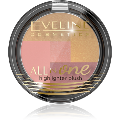 Eveline All In One Mosaic Blush 03 6,5 g