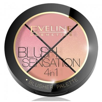 Eveline 4in1 Blush Sensation 12 g