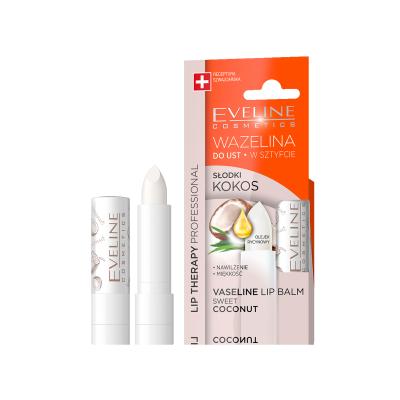 Eveline Lip Therapy Sweet Coconut Lip Balm 1 stk
