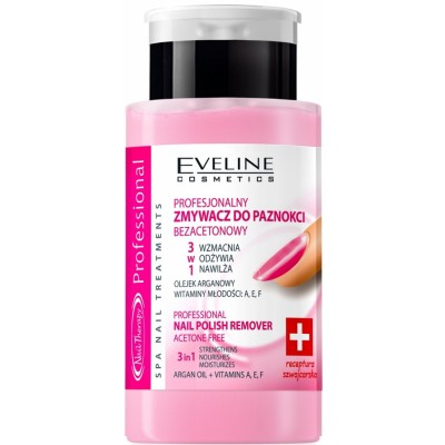 Eveline Nail Therapy Acetone Free Nail Polish Remover 190 ml