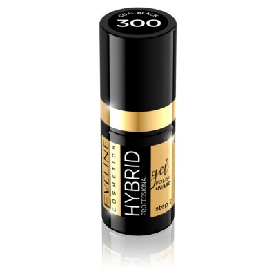 Eveline Hybrid Gel Polish 300 Black 5 ml