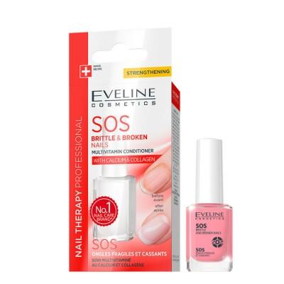 Eveline Nail Therapy SOS Multivitamin Conditioner 12 ml