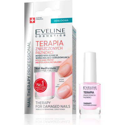 Eveline Nail Therapy Damaged Nails 12 ml