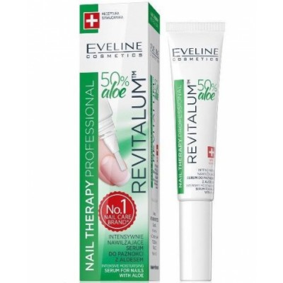 Eveline Nail Therapy Revitalum Serum For Nails Aloe 8 ml