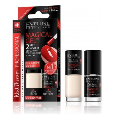 Eveline Spa Nail Therapy Magical Gel No.8 2 x 5 ml