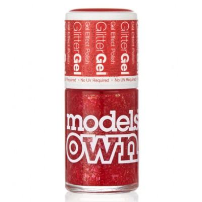 Models Own Glitter Gel Nail Polish Red Carpet 14 ml