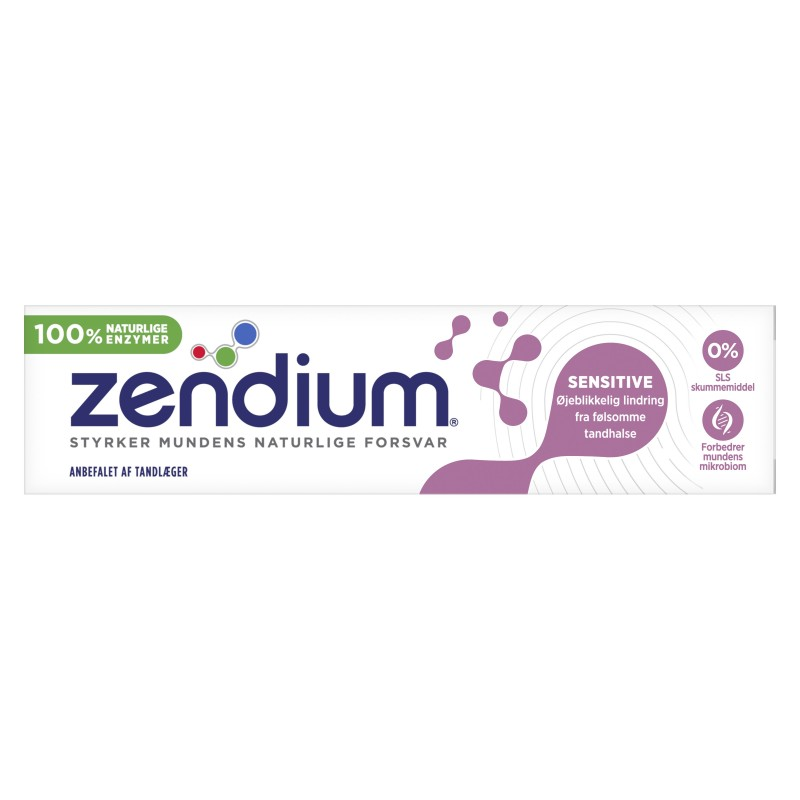 Zendium Sensitive Tandpasta 50 ml Tandkräm