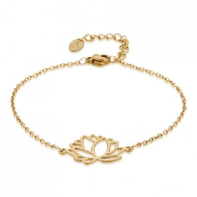 Everneed Summer Flower Armband Guld Onesize