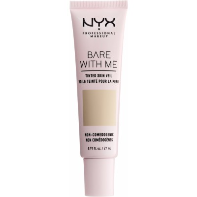 NYX Bare With Me Tinted Skin Veil 02 Vanilla Nude 27 ml