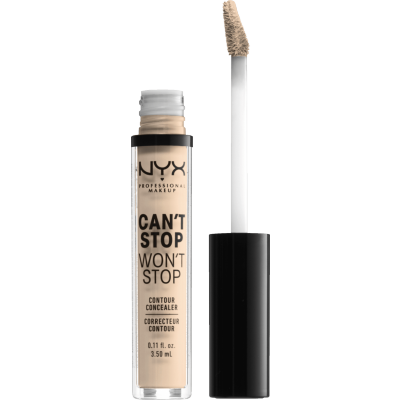 NYX Can't Stop Won't Stop Contour Concealer Light Ivory 3,5 ml