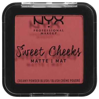 NYX Sweet Cheeks Matte Blush Citrine Rose 5 g