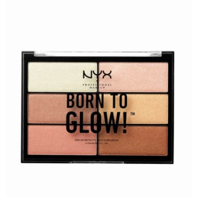 NYX Born To Glow Highlighting Palette 5,4 g