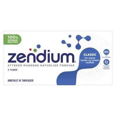 Zendium Classic 2-pakning Tannkrem 2 x 50 ml
