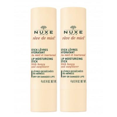 Nuxe Reve de Miel Lip Moisturizing Stick Duo 2 x 4 g