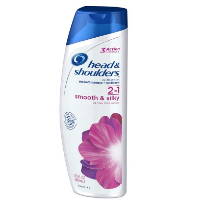 Head & Shoulders 2in1 Smooth & Silky Shampoo & Conditioner 400 ml