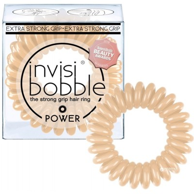 Invisibobble Hair Elastics Extra Strong Power To Be Or Nude To Be 3 pcs