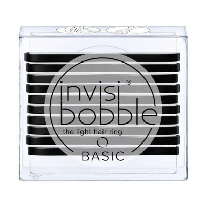 Invisibobble Basic True Black 10 kpl