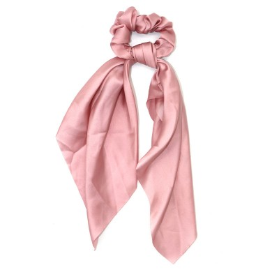 Everneed Selma Knot Scrunchie Rosa 30 cm