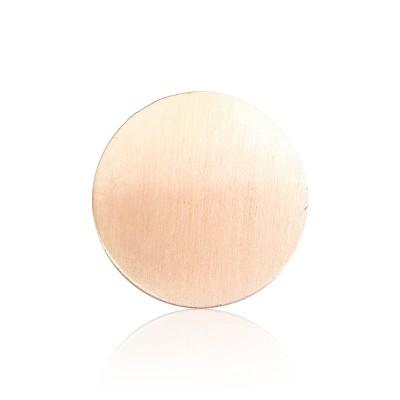Everneed Bibbi ruusukultainen Finish pyöreä hiussolki 4,5 cm