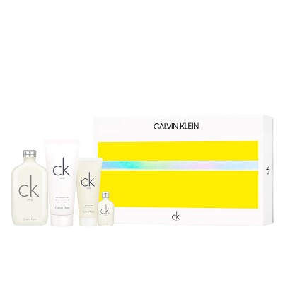 Calvin Klein CK One EDT & EDT Mini & Shower Gel & Body Lotion 200 ml + 15 ml+ 100 ml + 200 ml