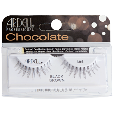 Ardell Chocolate Lashes 888 Black Brown 1 pair