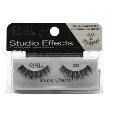 Ardell Studio Effects Lashes 232 Black 1 paar
