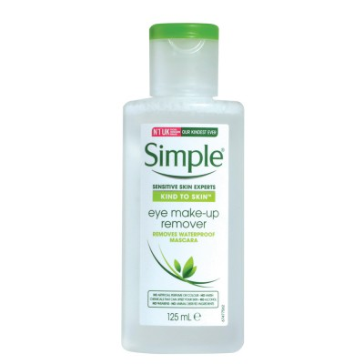 Simple Eye Makeup Remover 125 ml