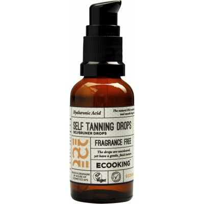 Ecooking Self Tanning Drops Fragrance Free 30 ml