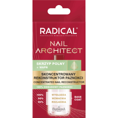Radical Nail Architect Concentrated Nail Reconstructor 12 ml