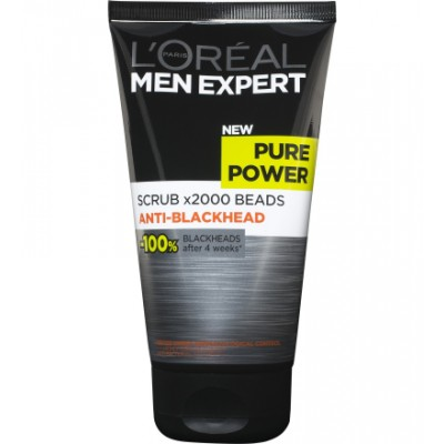 L'Oreal Men Expert Pure Power Blackhead Scrub 150 ml