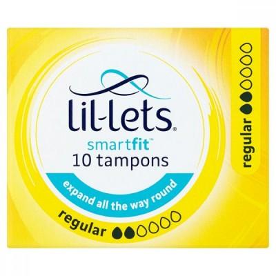 Lil-Lets Smartfit Tampons Regular 10 pcs