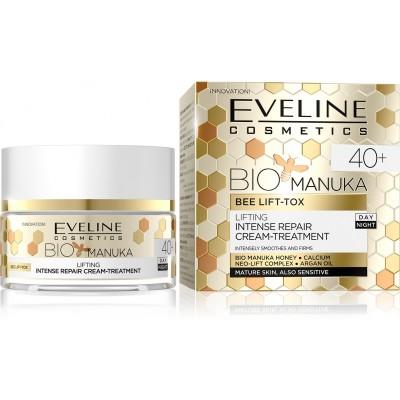 Eveline BIO Manuka Lifting Intense Repair Day & Night Face Cream Treatment 40+ 50 ml
