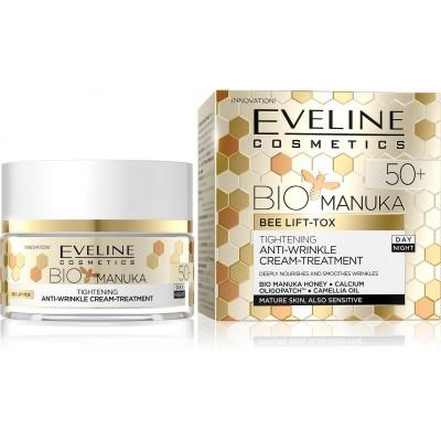 Eveline BIO Manuka Lifting Intense Repair Day & Night Face Cream Treatment 50+ 50 ml