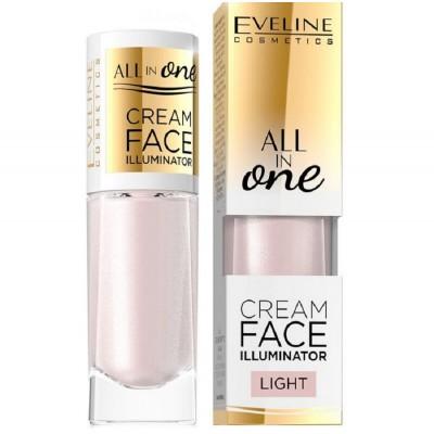 Eveline All In One Cream Face Illuminator Light 8 ml