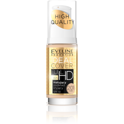 Eveline Ideal Cover Matt & Covering Foundation 201 Ivory 30 ml