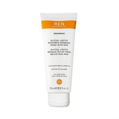 REN Glycolactic Radiance Renewal Mask 75 ml