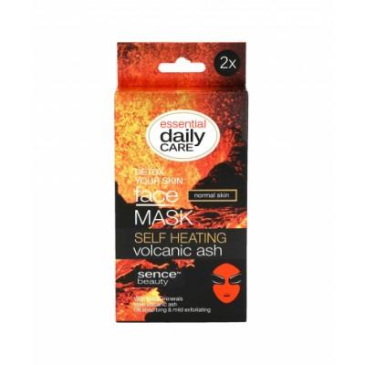 Sencebeauty Self Heating Volcanic Ash Face Mask 2 x 6 g