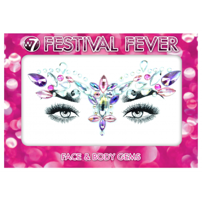 W7 Festival Fever Face & Body Gems Glam Goddess 1 Sett