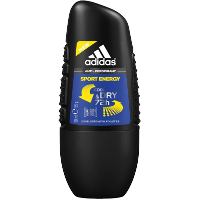 Image of   Adidas Cool&Dry Sport Energy Roll On Deo 50 ml
