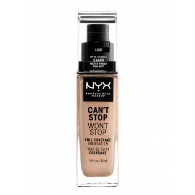 NYX Can't Stop Won't Stop Foundation Light 30 ml