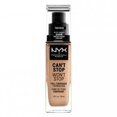NYX Can't Stop Won't Stop Foundation True Beige 30 ml