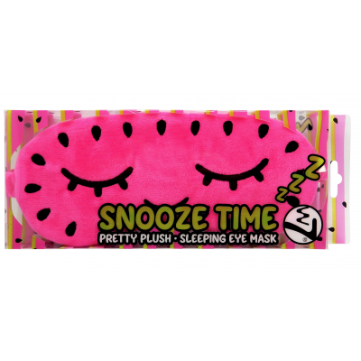 W7 Snooze Time Pretty Plush Sleeping Eye Mask 1 stk