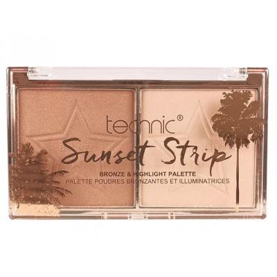 Technic Sunset Strip Bronze & Highlight Palette 12 g