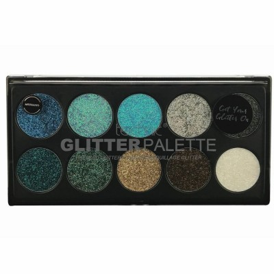 Technic Glitter Palette Mermaid 1 kpl