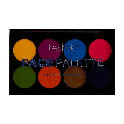 Technic Face Palette Metallic 24 g