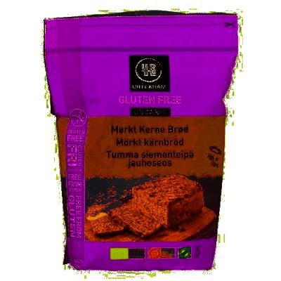 Urtekram Tumma siemenleipä jauhoseos 560 g