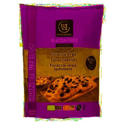 Urtekram Glutenvrije Foccacia Bakmix Eko 470 g